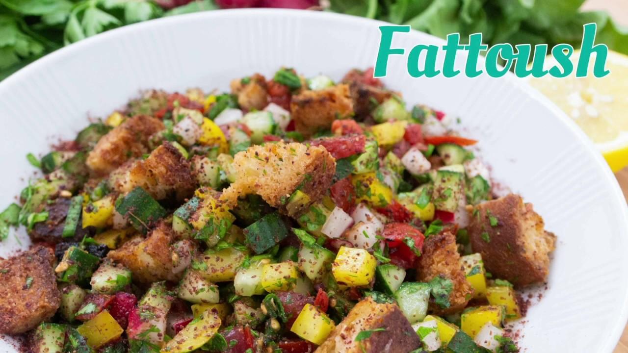 Barbaras Küche: Fattoush (en)