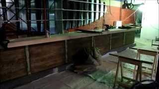Барная стойка из массива ясеня (Мастерская Пират Вудс)(Барная стойка изготовлена в Мастерской Пират Вудс по заказу одного московского ночного клуба. http://piratewoods.ru/, 2014-12-06T19:12:58.000Z)