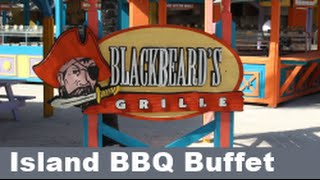 Coco Cay Free Beach Bbq Island Buffet; Royal Caribbean Cruise Food!