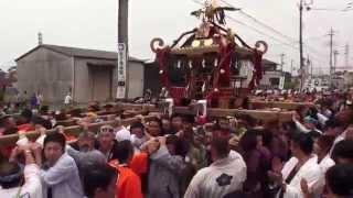 平成27年 鷲宮神社 ≪土師祭≫ 本社千貫神輿渡御 。