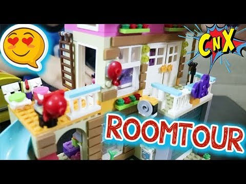 Lego House With Elevator Let S Have Roomtour Lego Friends New Year Gift 2019 Cnx Adventurers