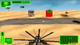 Blades of Thunder - Flight simulator for GBA - Gameplay sample