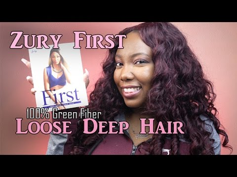 Best Synthetic Hair for under $20 | Zury First 100% Green Fiber | LongHairPrettyNails