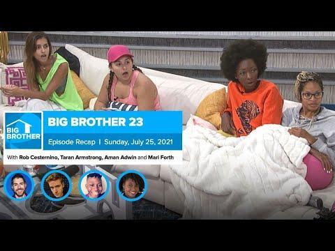Big Brother 23 |  Sunday, July 25 Summary – Rob Has a Podcast