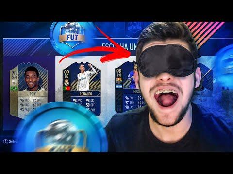 FUT DRAFT ÀS CEGAS!! TENTEI O 193, CONSEGUI??? FIFA 18 ULTIMATE TEAM!!!