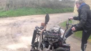 Erneé 2013  moteur 4L rampe gsxr /vol1 GP motocross