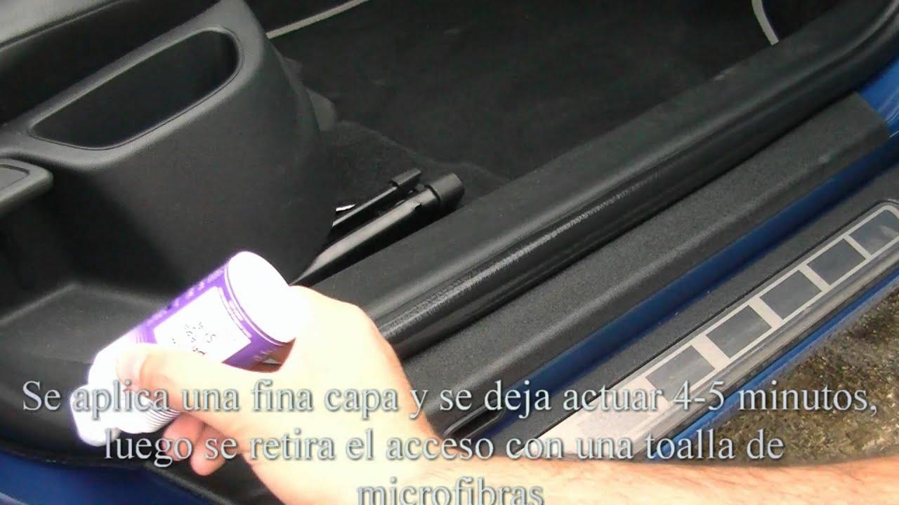 Manual de Car Care - Limpieza y acondicionado de gomas interiores ...