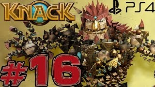 Knack - Part 16 - Giant Robot battle (PS4) (Walkthrough)