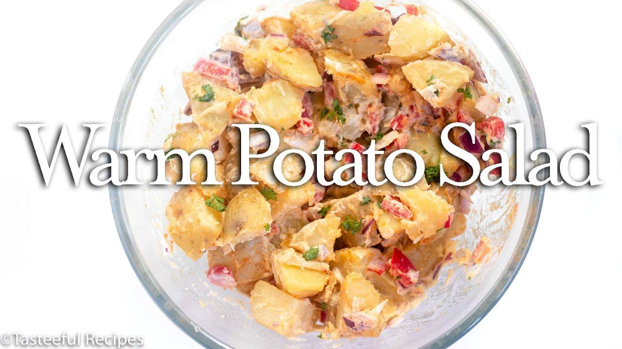 Hot Creamy Potato Salad Recipe