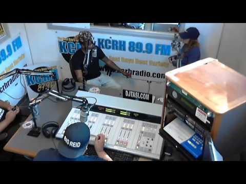 Riley Hero #Live on KCRH 89.9 FM #TheMidDayMixUp!!