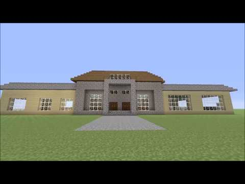 Minecraft Small Mansion Build Showcase PS4