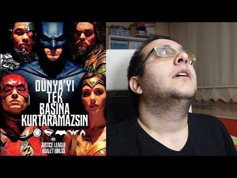Film Mızmızlanmaları: Justice League