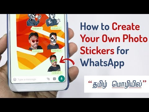 Create your own WhatsApp Stickers Pack for FREE! (Easy Method) | DroidSpace Tamil