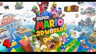 COOPERATIVO - MARIO 3D WORLD #4