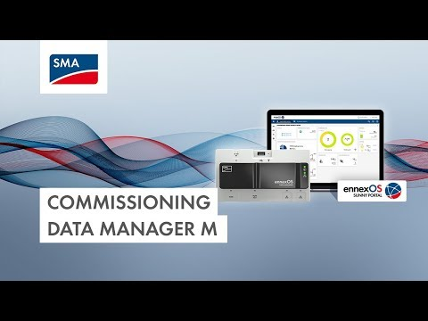 Commissioning Data Manager M (Screencast)