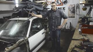 Как снять дверь на VW Passat B3, B4, B5, B6