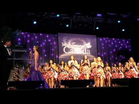 Miss Teenage Canada 2015 - Opening and Top 20!