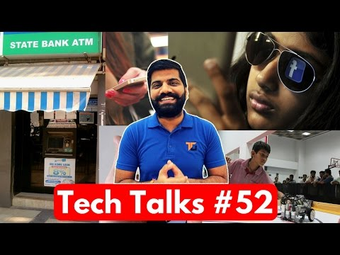Tech Talks #52 - ATM Hack, Facebook Express WiFi, Buy Phone from Old 500-1000 Notes, New iPad