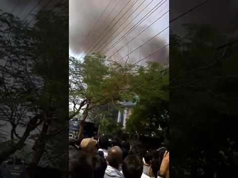 Fire in Export Company Noida Sector 11 today