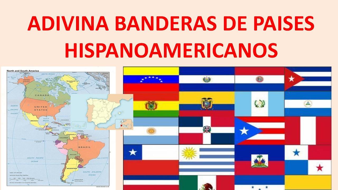 Banderas Latinoamericanas. Adivina País.Juega Y Adivina