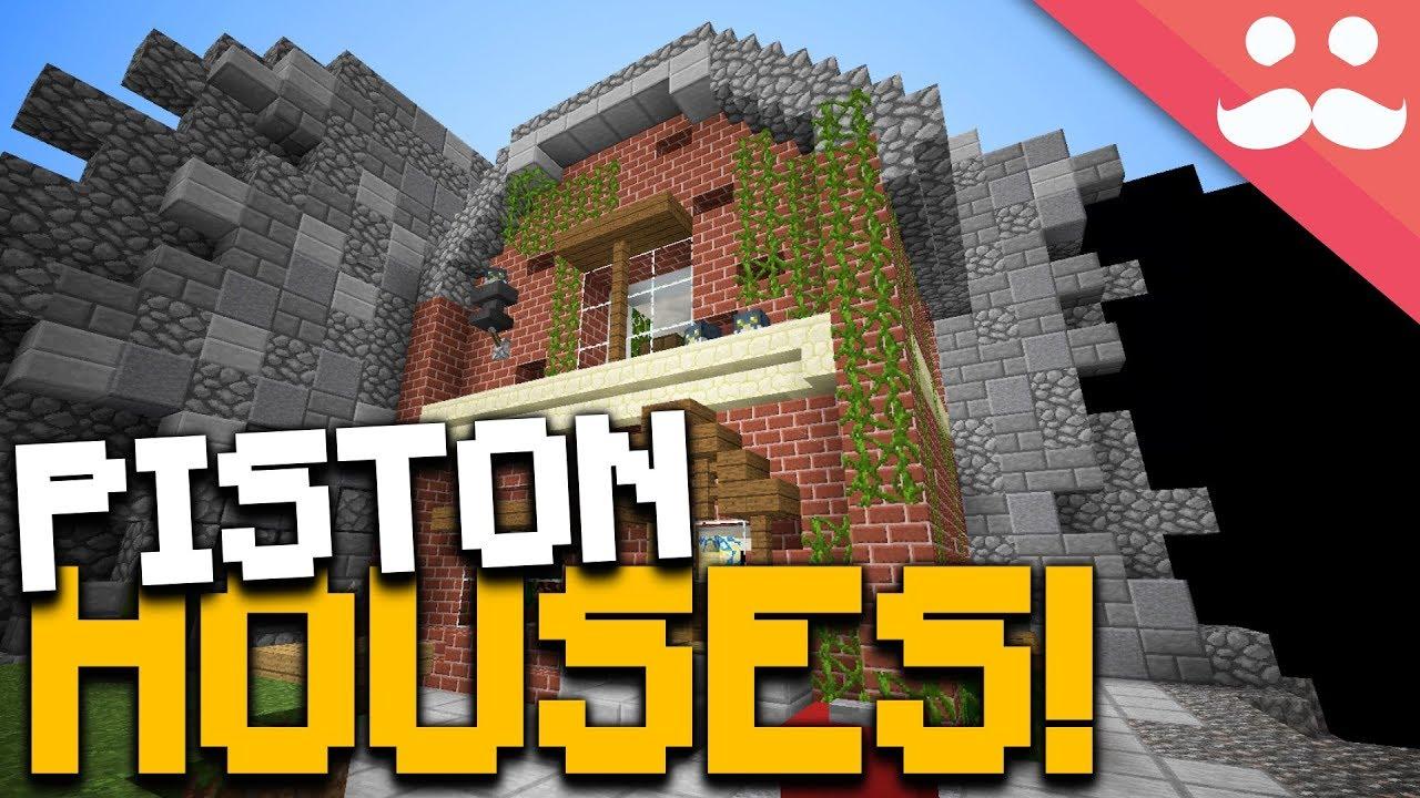 Incredible Minecraft Piston Houses! - YouTube - photo#41