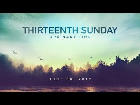 Weekly Catholic Gospel Reflection For June 30, 2019 |