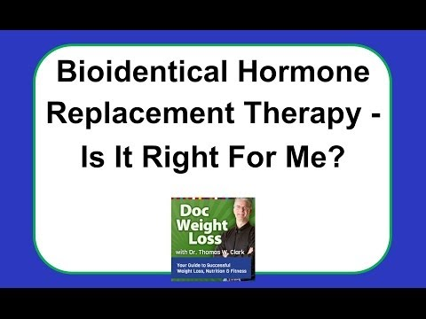 Bioidentical Hormones and Hormone Replacement Therapy from YouTube · Duration:  12 minutes 51 seconds
