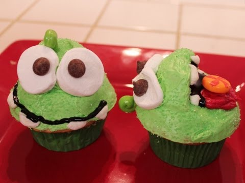 Cut The Rope Cupcakes - QNB