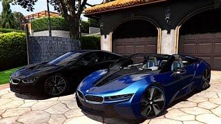 GTA V | BMW I8 SPYDER 2017 VS BMW I8 | GTA 5