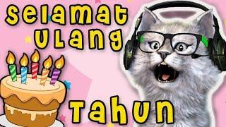 Kucing Nyanyi SELAMAT ULANG TAHUN ❤️ PANJANG UMURNYA ❤️ Lagu Anak anak Lucu