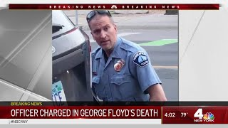 Officer Charged With Murder In George Floyd's Death, National Guard Moves in to Minneapolis