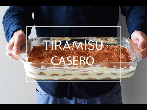 Receta De Tiramisu Casero Muy Fácil Las María Cocinillas