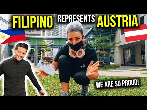 PINOY TALENT represents AUSTRIA in BIGGEST Singing Competition in EUROPE with THIS Message!