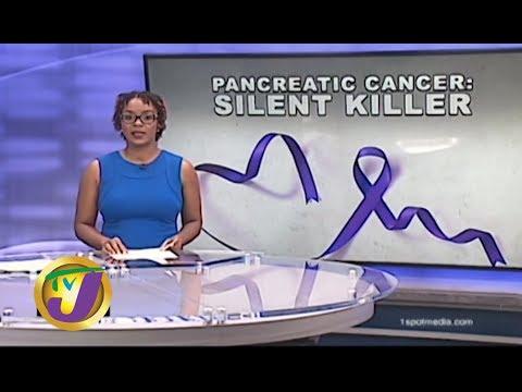 TVJ News Health Report: Pancreatic Cancer the Silent Killer -  November 27 2019 thumbnail