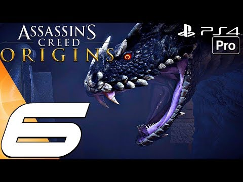Assassin's Creed Origins - Gameplay Walkthrough Part 6 - Giant Snake Boss Fight (PS4 PRO)