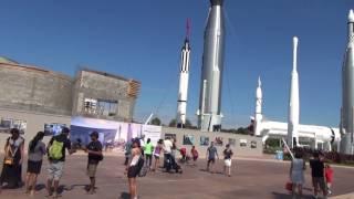 Kennedy Space Center Rocket Garden (Kennedy Uzay Merkezi)