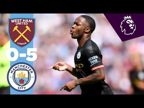 HIGHLIGHTS | West Ham 0-5 Man City | Sterling Hatrick, Gabri