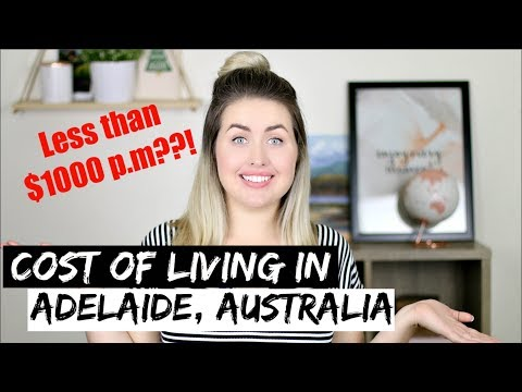 COST OF LIVING In ADELAIDE | Monthly Expenses Budget