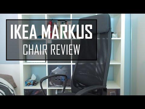 Skruvsta Bureaustoel Idhult Wit.Ikea Markus Chair Review Best Budget Chair Youtube