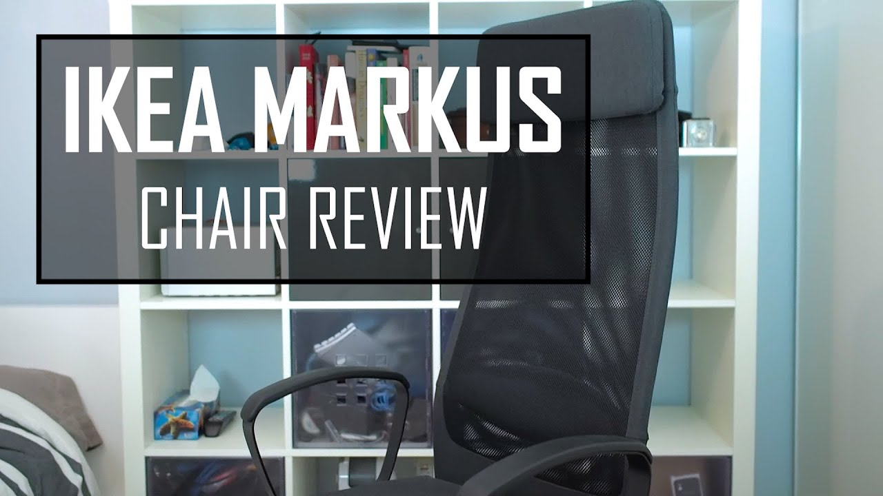 ikea markus chair review - best budget chair - youtube