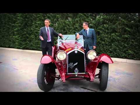 ScuderiaSPORTS.com: Presentazione Alfa Romeo 6C 1500 Gran Sport Zagato