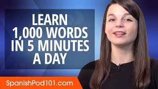 How to write 1,000 Spanish Words in a 5 Minutes a Day