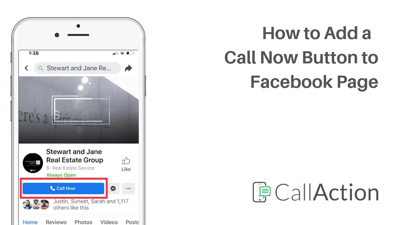 How to Add a Call to Action Button on Facebook Business Page for Users to Click to Call Now button