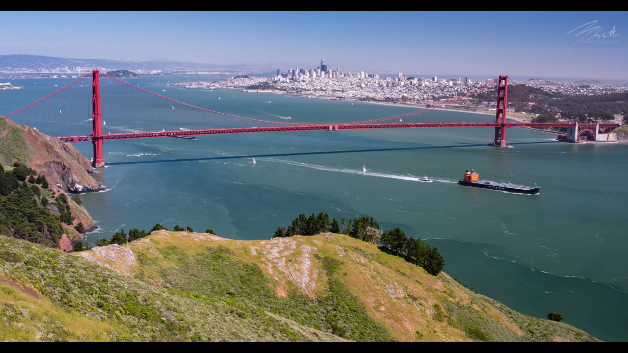 Golden Gate Bridge 4k: San Francisco's Golden Gate Bridge