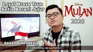 Loyal Brave True (BAHASA INDONESIA) Setia Berani Jujur - Christina Aguilera OST. Mulan 2020