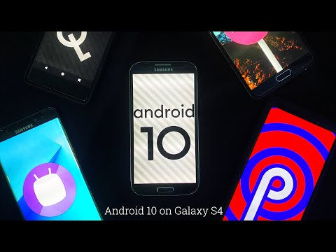 Android 10 on Galaxy S4! | Lineage OS 17.1 (How to install from STOCK)