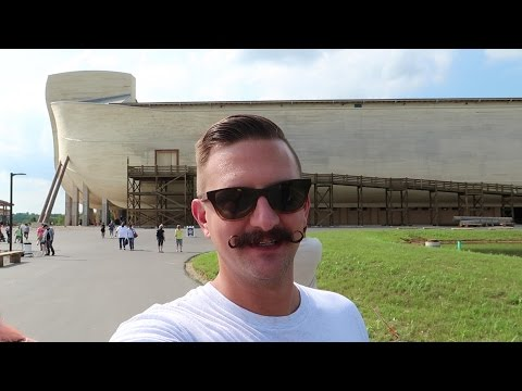 Visiting The Ark Encounter In Northern Kentucky | Real Life Noah's Ark!