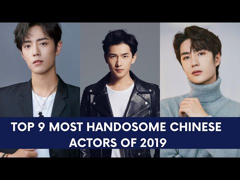 TOP 9 MOST HANDSOME CHINESE ACTORS OF 2019!