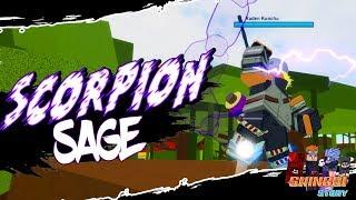 Scorpion Sage is Actually OP! | Aburambe/Konchu Clan in Roblox Shinobi Story | iBeMaine