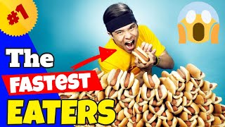 The Fastest Eaters Compilation (Furious Pete, Matt Stonie)